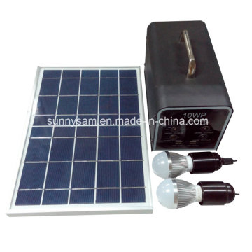Portable 10W Solar Home Power system for Camping Home Use