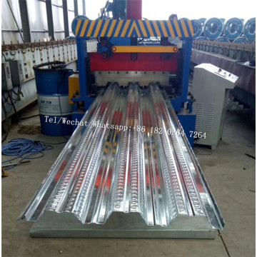 Lagergebäude Floor Deck Roll Forming Machine