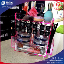 Hot Style Pink Acrylic Lipstick Display