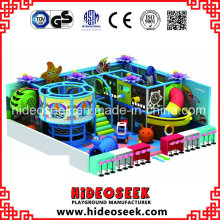 Sea Style Small Indoor Play Equipment with Spider Climbing