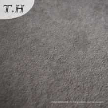 100 Tissu de velours de tissu tricoté acrylique