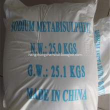 Shandong industrial sodium metabisulfite price
