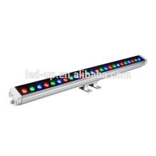 Zhongshan preço de fábrica IP65 LED Wall Washer luzes levou rgb Alumínio Habitação 24w