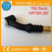 Tuba de solda de argão de tigro corpo de tocha de armação wp26 tig soldagem