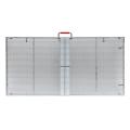 Grande tela externa de LED transparente para janela de vidro
