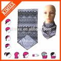 Microfiber scarf multifunctional seamless tube headwear