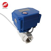 Válvula de control de flujo de flujo de cobre 4-20ma de mejor calidad