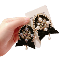 Vintage Pearl Brooch for Women Girl Coat Apparel Accessories Zircon Euro American Badge Fashion Jewelry Handmade Wholesale Gift