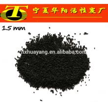 Carvão ativado preto granulado a granel para máscara facial