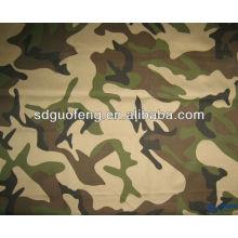 poliéster / algodón 65/35 20 * 16 120 * 60 patrón teñido patrón de camuflaje fabricante