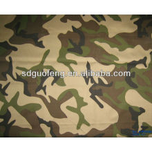 polyester / coton 65/35 20 * 16 120 * 60 motif de camouflage teint tissu fabricant