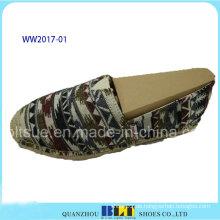 Frauen Rb Outsole Casual Schuhe mit Hanfseil