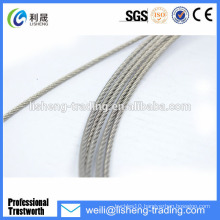 Stainless steel Wire Rope for fitness equipment