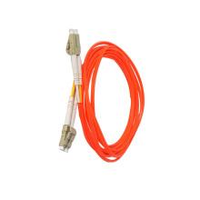Cordón de conexión de fibra óptica multimodo LC