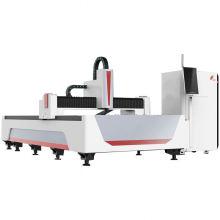 Water Chiller Copper Sheet Metal Fiber Laser Cutting Machine In Jinan