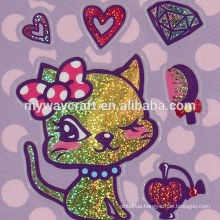 New design Glitter Sticker with great price