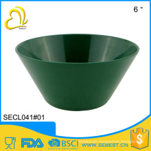 wholesale price rigid dish washer safe melamine plastic soup bowl