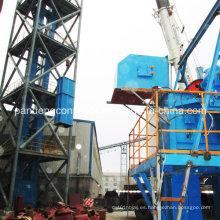 Transportador de riel de cubo de minería de carbón