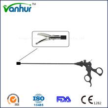 5 мм Лапароскопические инструменты Изогнутые ножницы с шариком