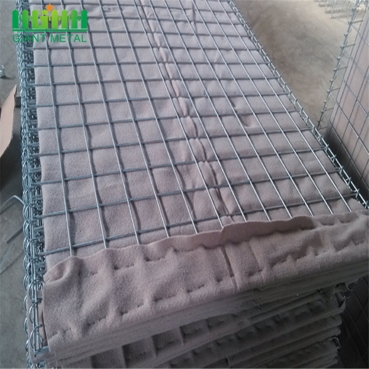 Mil 7 sable rempli Hesco Barrier gros