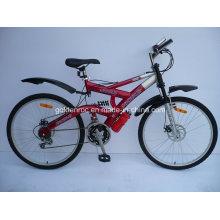 """26 """"bicicleta de montanha de armação de aço (26003)"""