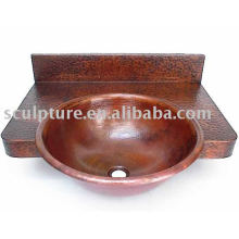 Hotel Decoration Copper Washbasin