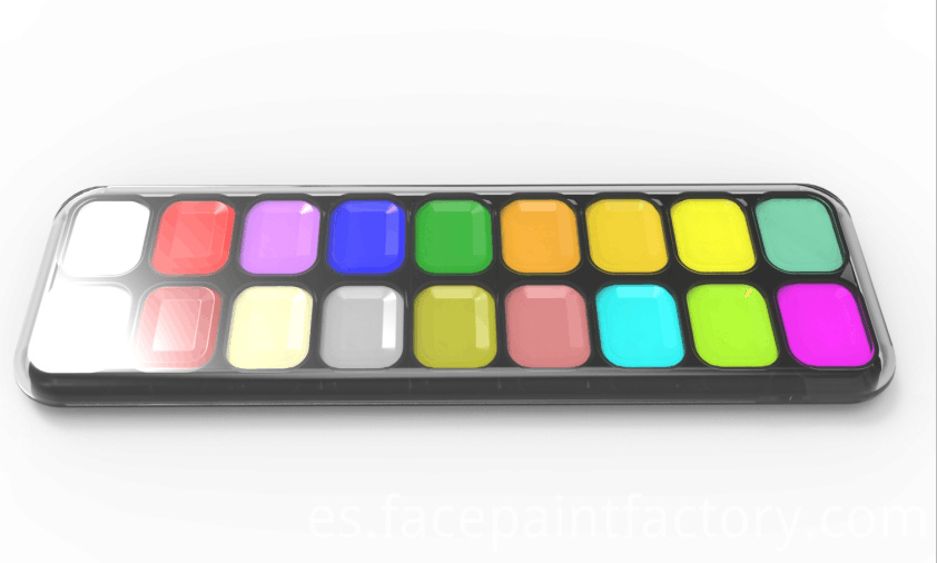 18colors face paint