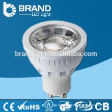 Novo projeto COB Gu10 LED Spotlight bulbo, 5W LED Spotlight COB, 3 anos de garantia