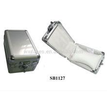cajas de reloj de aluminio por mayor para 2 relojes fabricante