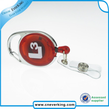 Custom Working Badge Reel with PVC Card Holder