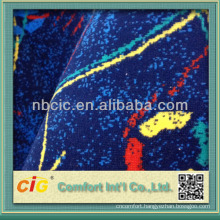 Fashion Jacquard Velvet Bonding Fabric for Bus Seat