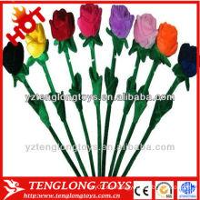 Nuevo juguete vívido de la flor de la felpa del diseño para la decoración casera