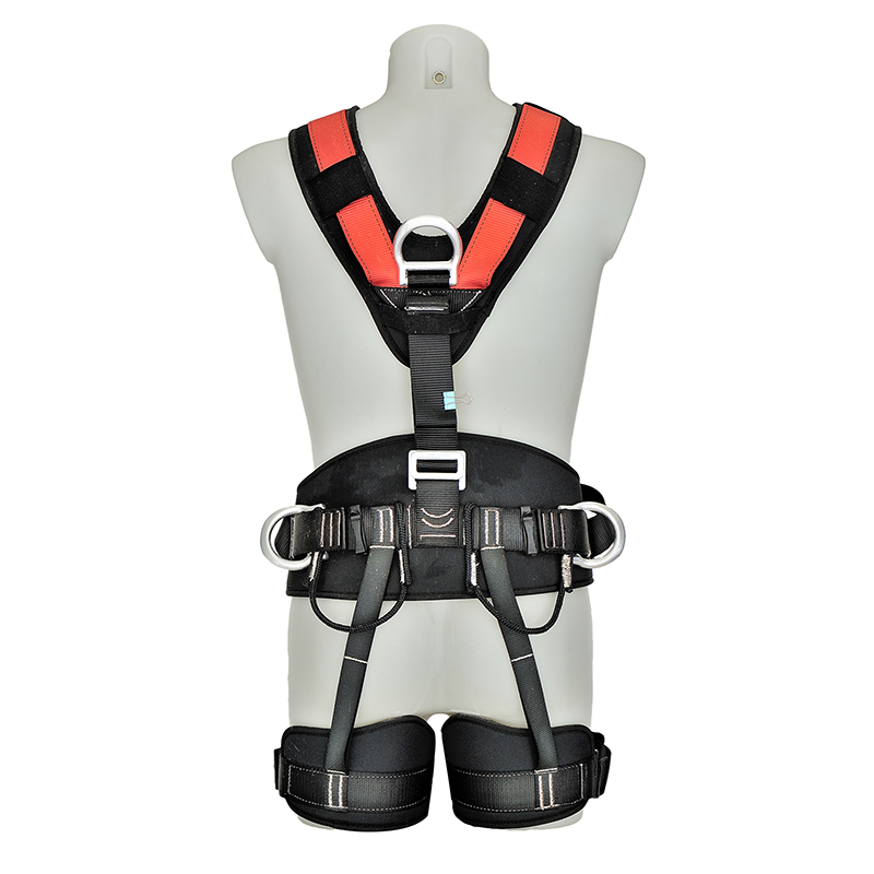 Construction full body safety belt harness