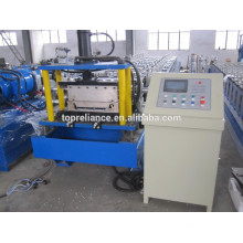 Aluminium Bemo Tapered Roof Roll Forming Machine with curving machine