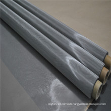 High Tension 316L Stainless Steel Screen Printing Mesh