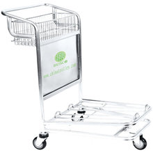 Factory directly selling heavy duty luggage cart, travel luggage cart, cart for luggage