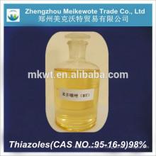 réactif de laboratoire BT(95-16-9) Benzothiazole pour matériaux photographiques