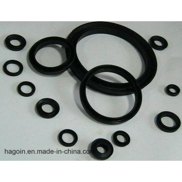 Fabricación de Qingdao para el anillo de goma plano