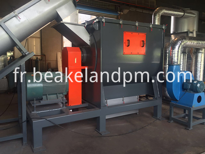 Plastic drying machine