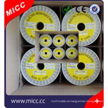 MICC alambre plano brillante recocido brillante redondo elemento calefactor