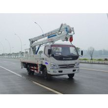 2018 new Foton truck mounted aerial platforms manufacturers
