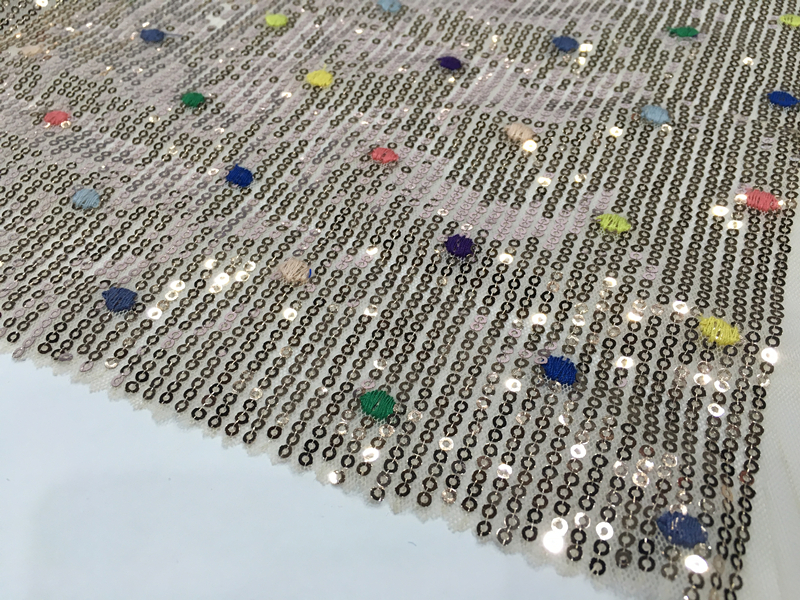 Poly Mesh Embroidery Fabric