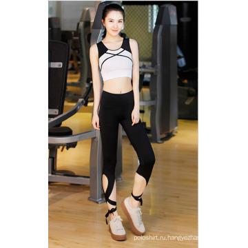 2016 женщины очаровательный оптом Спортивная одежда спортивная одежда костюм Йога
