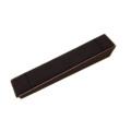 Brown Leather with Velvet Linen Bracelet Display Bar