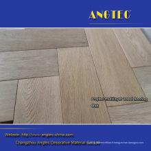 Plancher en bois d'ingénierie de pli de chêne 3 plis de grande planche