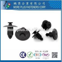 Тайвань нержавеющей стали ПК N66 натуральный черный нейлон Пластиковые заклепки Пластиковые push заклепки оснастки заклепки Пластиковые
