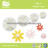 Fondant Decorating Plunger(Eight-petal flower)