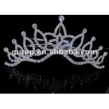 Hot sell wedding bridal tiara comb (GWST12-636)