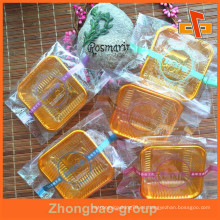 Pequeña seguridad de los alimentos OPP selló la bolsa clara del bolso con la impresión para el embalaje Tortas / panes / galletas / galletas