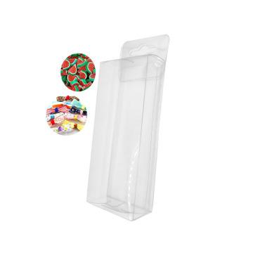 Caja de presentación de plástico transparente para embalaje de señuelos